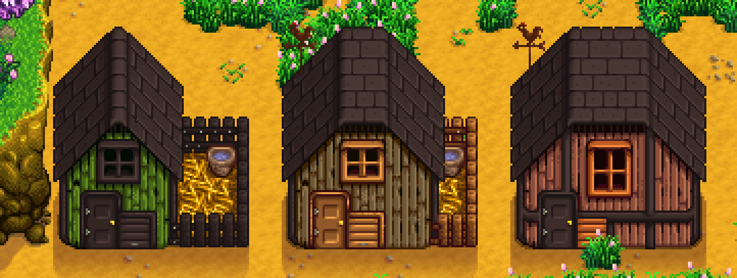 House and building customisation - Content Patcher | Stardew