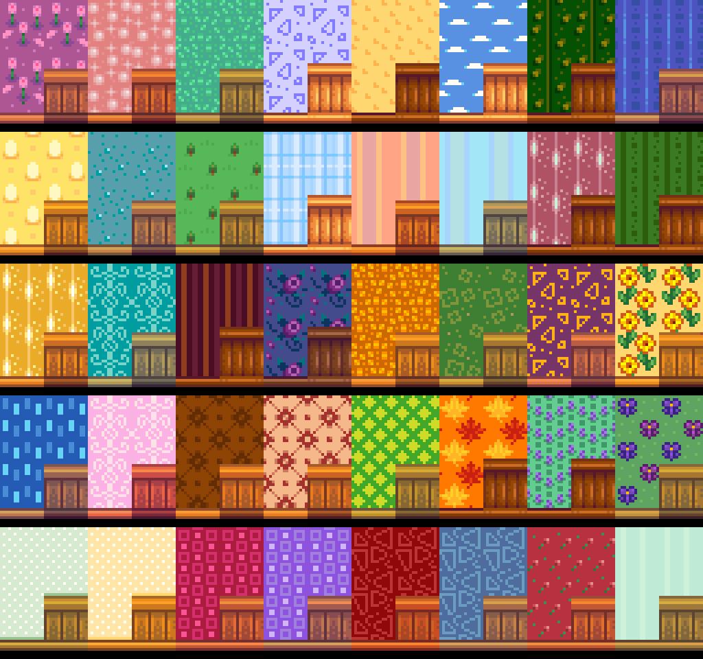 Lumisteria Wallpapers - Custom Wall and Floor | Stardew ...